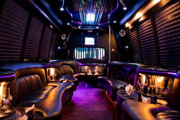 15 Person Party Bus Rental Henderson