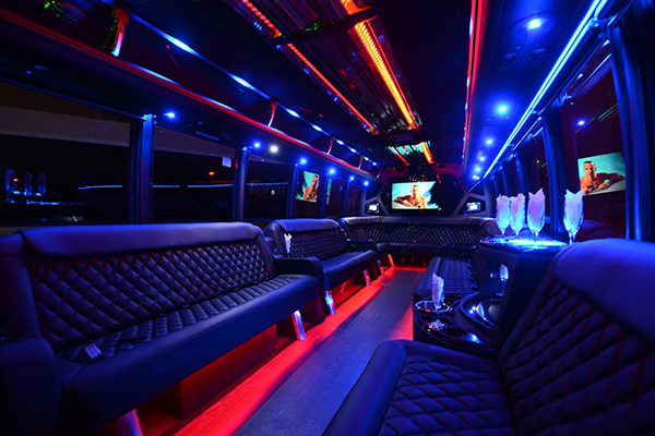 40 Person Party Bus Rental Henderson